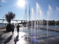 Parcours d´eau en centre-ville Martigues