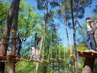Idée de Sortie Ginestet AccroZarbres - Parcours aventure
