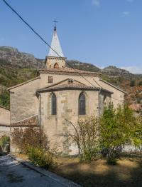Idée de Sortie Borne Eglise de Mayres