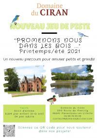 Evenement Orléans Promenons-nous dans les bois Grand jeu de piste nature printemps/été 2021