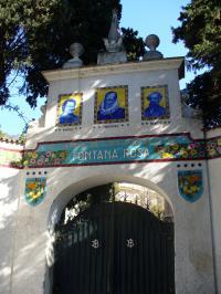 Jardin Fontana Rosa - jardin des Romanciers Alpes Maritimes