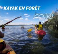 Evenement Clérey Balade Kayak en forêt immergée
