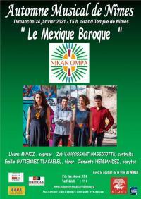 MEXIQUE-BAROQUE Nîmes