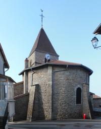 Idée de Sortie Tramayes Église de Saint Jacques des Arrêts