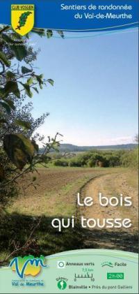 Idée de Sortie Blainville sur l'Eau SENTIERS DE RANDONNÉE VAL DE MEURTHE LE BOIS QUI TOUSSE