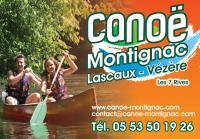 Idée de Sortie Montignac Canoë Les 7 Rives