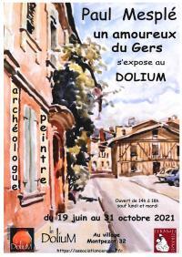 Evenement Gers EXPOSITION PAUL MESPLÉ AU CENTRE D'EXPOSITION : LE DOLIUM