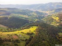 Evenement Alsace Exposition : La Vallée de Munster vue du ciel