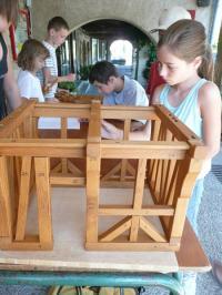 Idée de Sortie Najac L'Eté des 6-12 ans - La maison à pan de bois