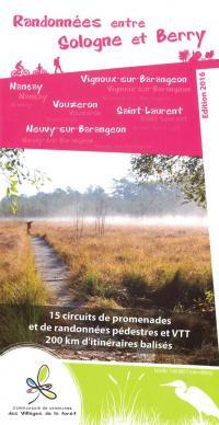 Idée de Sortie Neuvy sur Barangeon Carte de 15 circuits de randonnées entre Sologne et Berry