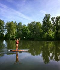 Idée de Sortie Saint Germain du Salembre Stand up paddle USNCK