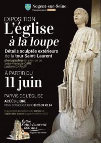 Evenement Romilly sur Seine Exposition à l'Eglise Saint-Laurent L'Eglise à la loupe