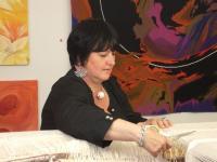 Idée de Sortie Boussac Visite de l'atelier de Françoise Vernaudon