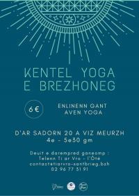 Evenement Saint Brandan Séance de yoga en breton en ligne