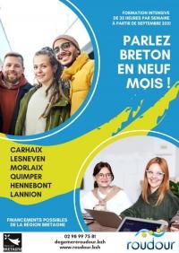 Evenement Pleubian Réd'information formation 6/9 mois au breton