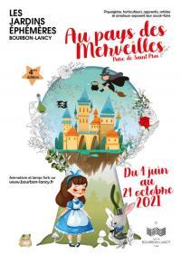 Evenement Bourgogne Les Jardins Éphémères Au Pays des Merveilles