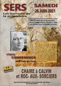 Evenement Clermont Ferrand UN SAMEDI DE LA PREHISTOIRE avec Geneviève Pinçon