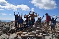 Evenement Enchastrayes Séjour découverte montagne Mercantour dans le cadre de l'opération colonies apprenantes par le Ministère de l'Éducation Nationale.