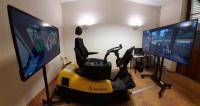 Evenement Bourgogne Simulateur de conduite de tracteur agricole