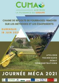 Evenement Manhac Journée Méca CUMA Aveyron