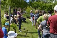 Evenement Aix les Bains Visite flash du jardin