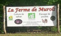 Evenement Mur de Barrez Visite de ferme avicole et safran en agriculture biologique