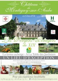 Evenement Bourgogne Découvrez les vergers-potagers, le parc et la chapelle Renaissance du château de Montigny-sur-Aube