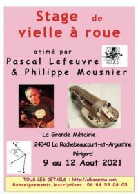 Evenement Voeuil et Giget Stage - Vielle à roue