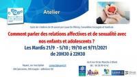 Evenement Orléans Education affective relationnelle et sexuelle