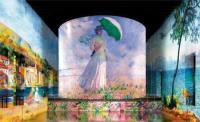 Evenement Saint Loubès Monet, Renoir, Chagall Voyages aux Bassins de Lumières