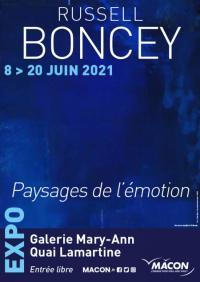 Evenement Bourgogne Russell Boncey - Paysages de l'émotion