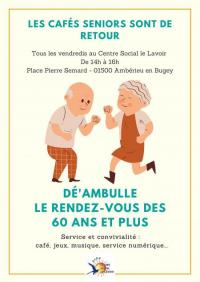 Evenement Ain Dé'ambulle - Le rendez-vous des 60 ans et plus