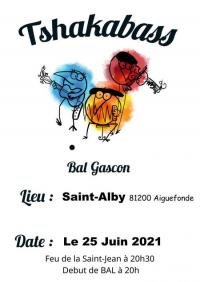 Evenement Villardonnel Bal avec Tshakabass