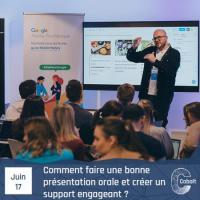 Evenement Poitiers Comment faire une bonne présentation orale et créer un support engageant -