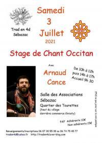 Evenement Laissac Stage chant occitan