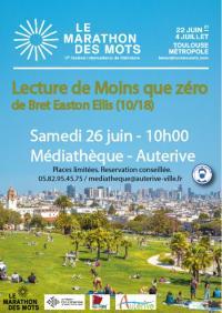 Evenement Saint Quirc MARATHON DES MOTS