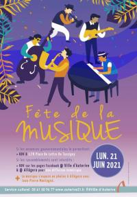 Evenement Saint Quirc FETE DE LA MUSIQUE