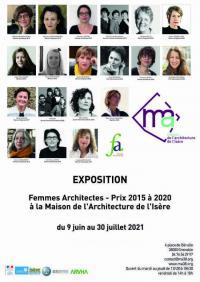 Evenement Grenoble Prix femmes architectes Prix 2015 à 2020 - ARVHA