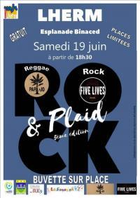 Evenement Crampagna 5ème édition Rock'n plaid