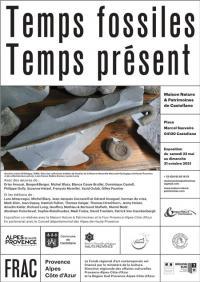 Evenement Thorame Haute Visite guidée de l'exposition Temps Fossiles Temps Présent par Stephen Giner, géomorphologue et paléoenvironnementaliste