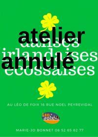 Evenement Saint Félix de Rieutord Atelier mensuel de Danses Irlandaises et Écossaises