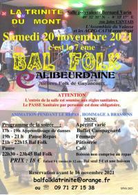 Evenement Beuzeville la Grenier Bal Folk et Atelier danses Folk