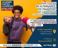 Evenement Linars ALTERNANCE - 4500 postes à pourvoir en transport et logistique à la rentrée