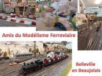 Evenement Cercié Le modélisme ferroviaire, visite commentée