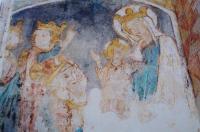 Evenement Montmoreau Saint Cybard Découverte d'une église du XIe siècle et de ses peintures murales des XIVe et XVe siècles