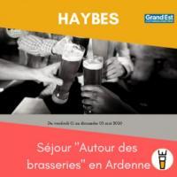Evenement Aubrives Séjour Autour des brasseries en Ardenne