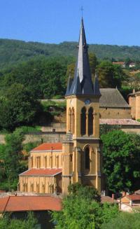 Evenement Limas Visite église Saint-Etienne