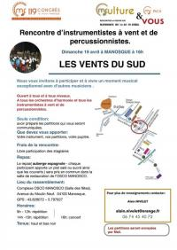 Evenement Bras d'Asse Les vents du SUD