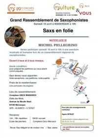 Evenement Sainte Croix à Lauze Saxs en folie