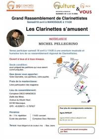Evenement Bras d'Asse Les clarinettes s'amusent